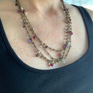 2 strands Liz Palacios Necklaces
